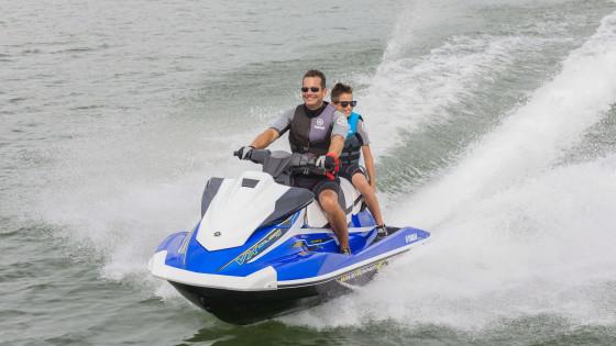 Yamaha VX Cruiser HO: семейный гидроцикл со спортивным характером