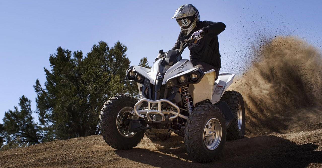 Обзор топового спортивного квадроцикла — Yamaha Raptor