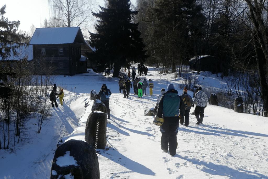 Отчет от 07-08 февраля/Чёртов мост