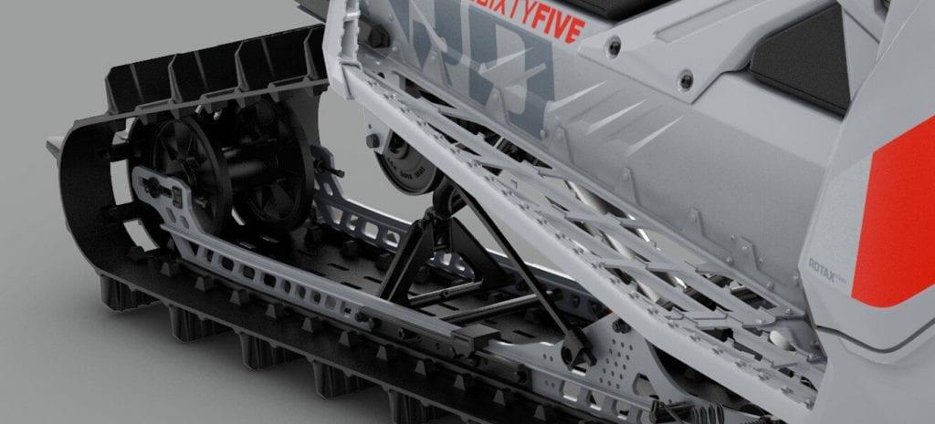 Ski-Doo FREERIDE 154 850 E-TEC Turbo SHOT 2021