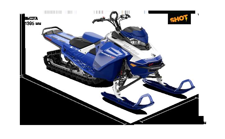 Ski-Doo SUMMIT X 165 850 E-TEC SHOT 2021