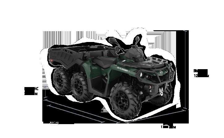 Can-Am OUTLANDER 6×6 XU+ 650 2021