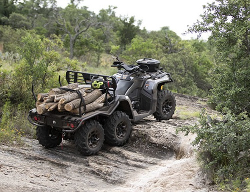 Can-Am OUTLANDER 6×6 XU+ 450 2021