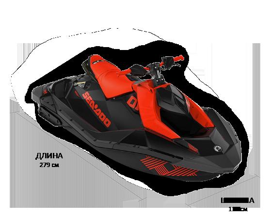 Sea-Doo SPARK 2UP 900 HO IBR TRIXX 2021