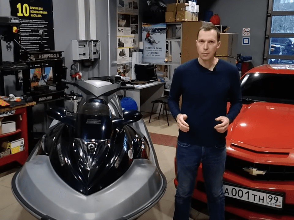 Видео обзор нового Sea-Doo RXP-X 300 2021 года