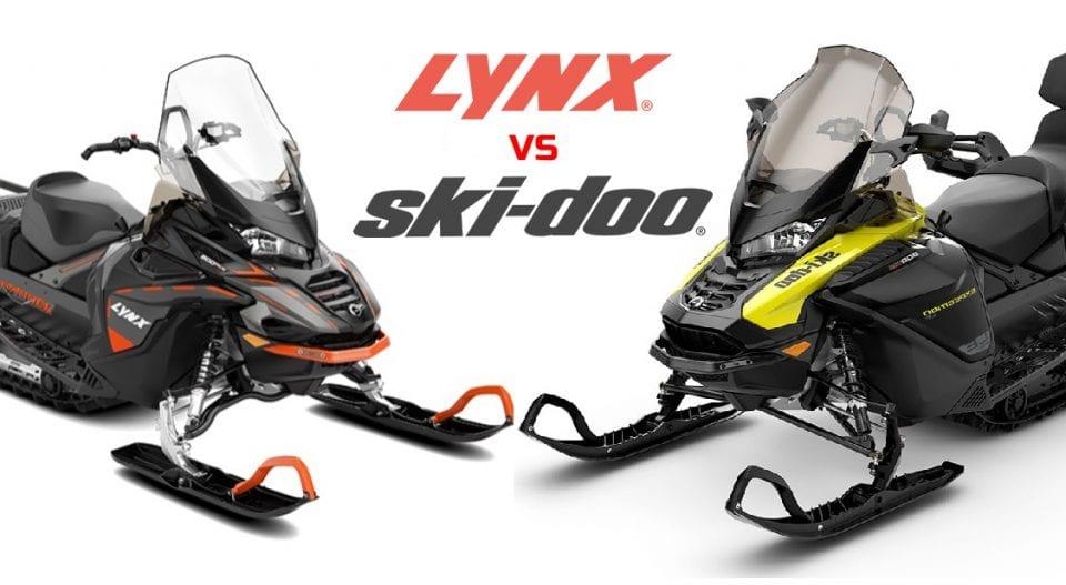 Сравнение снегоходов BRP: Ski-Doo Expedition или Lynx Commander