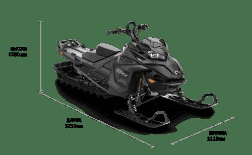 Lynx BOONDOCKER DS 3900 850 E-TEC DSHOT 64MM BLACK EDITION 2022