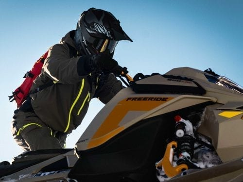 Ski-Doo FREERIDE STD 154 850 E-TEC TURBO SHOT 2022