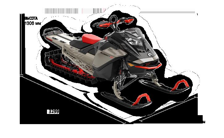 Ski-Doo SUMMIT EXPERT 165 850 E-TEC SHOT 2022