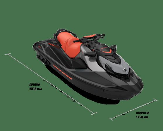 Sea-Doo GTI SE 170 2022 с аудиосистемой и IDF